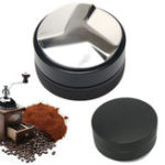 New 52mm Espresso Powder Distributor W/Three-Angled-Slopes Base Coffee Tamper Coffee Filter