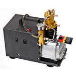 New 220V High Pressure Air Pump 4500PSI 40Mpa 1.8KW Water Cooling Compressor for Paintball Air Rifles