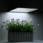 New 225LED Grow Light White Lamp Ultrathin Panel Hydroponics Indoor Plant Veg Flower AC85-265V