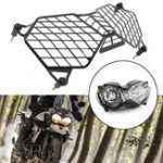 New Black Motorcycle Headlight Grille Light Cover Protective Guard Protector For Triumph Tiger 800 2010-2017 Explorer 1200 2012-2017
