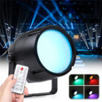 New 60W 169 RGBW LED Stage Light Bar Party Show Laser Projector Lamp with Remote Controller