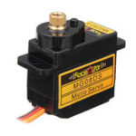 New Racerstar MG08DS 12g Micro Metal Gear Analog Servo For RC Helicopter Car Airplane Robot