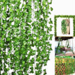 New Artificial Trailing Ivy Vine Leaf Ferns Greenery Garland Plants Foliage Flowers Decorations