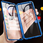New Bakeey 360º Front+Back Double-sided Full Body 9H Tempered Glass Metal Magnetic Adsorption Flip Protective Case For Xiaomi Redmi Note 7 / Redmi Note 7 Pro