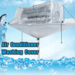 New Totally Enclosed Type Air Condition Cleaning Washing Tool Cover Ceiling Wall Mounted PVC For Up to 3HP Type