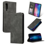 New Bakeey Flip Shockproof Card Slot With Magnetic PU Leather Full Body Protective Case For Xiaomi Mi 9 / Mi 9 Transparent Edition