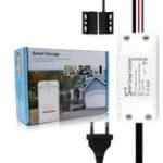 New MoesHouse WiFi Smart Switch Garage Door Controller Opener Smart Life/Tuya APP Remote Compatible With Alexa Echo Google Home No Hub Require