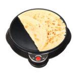 New 220V Electric Non-stick Cooker Pancake Making Machine Kitchen Cooking Cake Pan w/ Turner