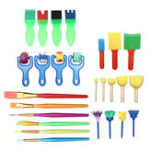 New 29Pcs/Set Manual Watercolor Drawing Set Pen for Early Childhood Education Painting