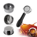 New Coffee Filter Coffee 2 Cup 51mm Non Pressurized Filter Basket For Bre-ville Delonghi Krups
