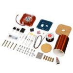 New 24V DIY Electronic Assembled Kit Mini Music Tesla Coil Plasma Speaker Tesla Arc Generator