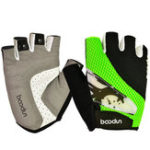 New BOODUN Half-Finger Riding Glove Outdoor Motorcycle Riding Cycling Protective Finger Gloves-S/M/L/XL