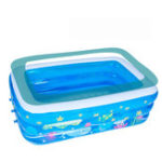 New Inflatable Swimming Pool Family Childrens Kids Baby Large Water Rectangular Fun Swimming Pool-125/150/185cm
