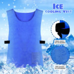 New Summer Ice Cooling Vest For Outdoor Work High Temperature Motorcycle Protective Clothing
