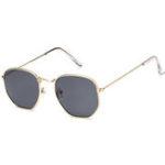 New Unisex Metal Frame Multicolor Sunglasses Retro Sunglasses