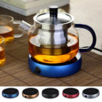 New Portable Electric Heating Coasters Coffee Tea Water Heater Glass Mug Pad Warmer Office House Desktop Use