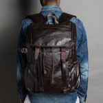 New Men Leisure Retro Large Capacity Multifunctional Backpack
