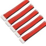 New 5PCS 6S 7Pin 2.54XH 30cm Lipo Battery Charger Silicone Wire Balance Extension Cable