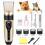 New Professional Pet Cat Dog Clipper Grooming Trimmer Kit