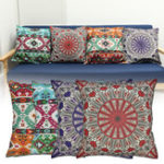 New Mandala Series National Wind Theme Pillow Cover and Cushion