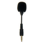 New Mini 3.5mm Jack Cellphone Flexible Mic 4-pole Stereo Microphone for iPhone Android Smartphone Recorder