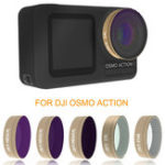 New Optical Glass Lens Filter UV CPL ND STAR Kit for DJI OSMO ACTION Sports Camera