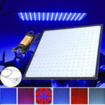 New 225 LED Grow Light Lamp Ultrathin Panel for Hydroponics Indoor Plant Veg Flower