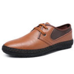 New Spicing Leather Business Dress Shoe Casual Office Oxfords