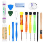 New 16Pcs Repair Screwdriver Toolkit Cell Phone Repair Tool kit Repairing Disassemble Tool