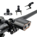 New BIKIGHT Bike Holder Flashlight Mount Holder Rotary Cycling Light Clip Adjustable Clamp