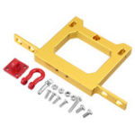 New WPL Rear Bumper Protector For WPL B14 B16 B24 1/16 RC Car Parts With Hook Gold