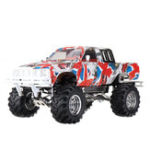 New New Shell HG P407 1/10 2.4G 4WD RC Car for TOYATO Metal 4X4 Pickup Truck RTR Crawler