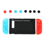 New 11-In-1 Silicone Case Cover Joystick Cap for Nintendo Switch Game Console Joy-Con gamepad