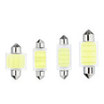 New 31/36/39/41mm C5W C10W COB LED Bulb Car Festoon Dome Lights Interior Map Reading Lamp DC12V White