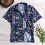 New Mens Floral Printed Summer Vacation Beach Hawaiian Shirts