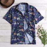 New Mens Floral Printed Summer Vacation Beach Hawaiian Shirts