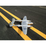 New MD P38 1200mm Wingspan EPO RC Airplane Lockheed P-38 Lighting Zoom Aircraft PNP Fixed Wing