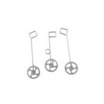 New QF008-Boeing 787 550mm RC Airplane Spare Part Landing Gear 3pcs