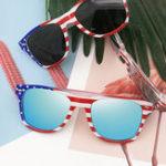 New Unisex Patriotic Polarspex Polarized Stylish Sunglasses