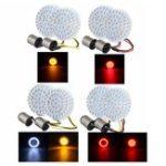 New 2pcs Motorcycle LED Brake Tail Light Turn Signal Lamp Bulbs 1156 / 1157 For Harley