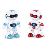New LeZhou Smart Touch Control Programmable Voice Interaction Sing Dance RC Robot Toy Gift For Children