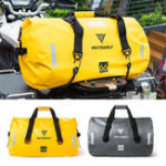 New 40L/66L/90L Motorcycle Touring Waterproof Dry Luggage Bag Motorbike Roll Pack Outdoor