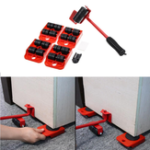 New Heavy Furniture Shifter Lifter Wheels Moving Kit Slider Mover Easy Move Removal Heavy Mover