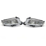 New 2Pcs LED Daytime Running Fog Lights Lamps DRL 6500K For Hyundai IX45 Santa Fe 2013-2015