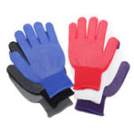 New 12 Pair Large Nitrile Rubber Coated Work Gloves Mechanics Electricians Nylon PVC
