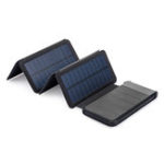 New Naturehike NH19T002-D Dual USB 10000mAh Folding Solar Panel Power Bank Porable Mobile Phone Charger Outdoor Camping