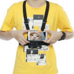 New Universal Car Phone Clip Holder with Chest Belt/ Head Strap for Climbing
