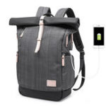 New Men Casual Multifunctional Laptop Backpack With USB Port