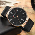 New CURREN 8257 Ultra Thin Casual Design Quartz Watch