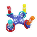 New Inflatable Throwing Lap Cross Throwing Circle Educational Inflatable Toys for Children